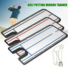 Golf Putting Mirror Training Eyeline Alignment Swing Practice Train Trainer Aid