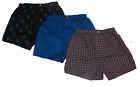 NEW*U.S. Polo Assn. Men's 3 Pack Assorted Woven Boxers, Size SMALL, Assrt Color