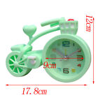 Battery Operated Bicycle Shaped Table Alarm Clock for Students Children