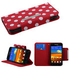 Book Card Wallet Case +Screen Film Cover For Epic Touch 4G D710/Galaxy S2 R760