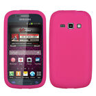 Soft Silicone Case +Screen Film Cover For Galaxy Prevail 2 M840 or Ring