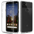 For Google Pixel 4/4 XL/3a/3a XL Shockproof Crystal Clear Transparent Case Cover