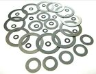 Shim washers. Classic car. 0.3mm Thickness. Motorbike. 3mm -> 19mm *Top Quality!