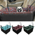 Waterproof Car Seat Cover Pet Dog Travel Hammock Side Flaps Zipper Protector Mat