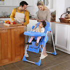 Adjustable Baby Infant Toddler High Chair Feeding Seat