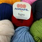 Adriafil Regina DK 100% Superwash Merino Wool Yarn 50g - All Colours