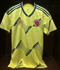 COLOMBIA HOME Soccer JERSEY 2019 Yellow - Adidas Men's - DN6619 image