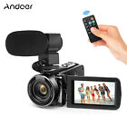 Andoer FHD 1080P 24MP 16X Digital Video Camera Camcorder Night Vision Recorder