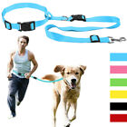 Hands Free Dog Lead Waist Belt Lead Nylon Pet Dog Running Walking Jogging Leash