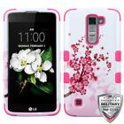 For LG Treasure/Tribute/K7 TUFF Rugged Shockproof Hybrid Phone Protector Cover