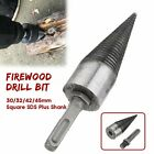 Twist Firewood Drill Bit Wood Splitter Screw Splitting Bit SDS Plus Shank