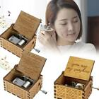 Kyпить Wooden Music Box Mom/Dad To Daughter -You Are My Sunshine Engraved Toy Kid Gift на еВаy.соm