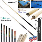 58 inch Wooden Snooker Cues 2-Piece Billiard Pool Cues Sticks  12oz/18oz/19oz £25.99 GBP on eBay