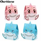 Внешний вид - 12Pcs Shark Party Favor Gift Boxes Candy Box Baby Shark Birthday Party Supplies