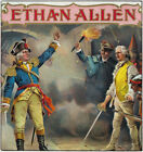 Ethan Allen Brand Cigar Box Label (Art Posters, Wood & Metal Signs, Totes)