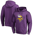 Minnesota Vikings Fanatics NFL Men's Hoodie Pullover Hooded Sweatshirt Purple on eBay