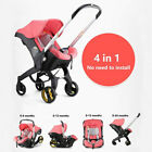 Infant Baby Stroller 4in1 Safety Seat Carriage Bassinet Combo Newborn Pram 0-24M