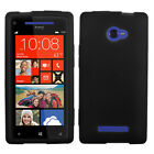 Solid Silicone Skin Cover Case for HTC Windows Phone 8X