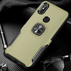For Xiaomi Redmi 6 Pro Note 7 Mi9 SE Magnetic Ring Stand Hybrid Armor Case Cover