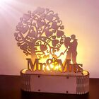 Wedding Sign Mr & Mrs I Love You Letters Wooden Birthday Anniversary DIY Decor