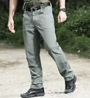 Mens Tactical Cargo Pants Combat Army Military Outdoor Quick Dry Summer Casual