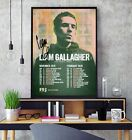 Liam Gallagher 2019 Signed  European Tour Poster Professional Grade Photo Print