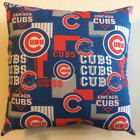 INCREDIBLE 15 x 15 MLB BASEBALL CHICAGO CUBS COMPLETE 15 X 15 PILLOW - 2 STYLES on Ebay