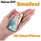 Smallest 4g Dual Sim Phone Super Mini Smartphone Melrose 2019 Android Camera Gps