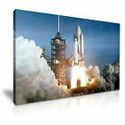 First Space Shuttle Launch Into Space Modern Art Canvas Print~ 5 Size to Choose