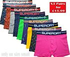 Superdry Boxers All Sizes 3 or 5 pack - CLEARANCE-STAY HOME SALE