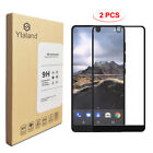 2-Pack Full Cover Tempered Glass Screen Protector For Essential Phone