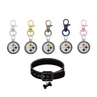 Pittsburgh Steelers Pet Tag Collar Charm Football Dog Cat - Pick Your Color $14.99 USD on eBay