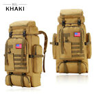 30L/35L/40L/80L Outdoor Military Tactical Rucksack Backpacks Hiking Camping Bag