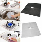 4 Gas Range Stove Burner Protector Reusable Liner Clean Cook Non-stick Cover #JU