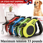 2019 Retractable Dog Leads Cord Tape Vario Neon Classic Extending Lead 8-60kg