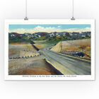CO Alameda Parkway to Red Rocks & Denver (Art Prints, Signs, Canvas, Tote, More)