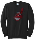 Women's Cleveland Indians Chief Wahoo Ladies Bling Shirt Sweatshirt (Size S-XL) on Ebay