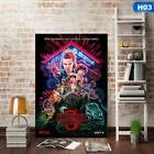 Stranger Things - Season 3 Wall Poster Hanging Painting Home Decor Newest Photo