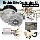 24V/36V 250W/350W Electric Bike Conversion Motor Controller for 22-28'' 3300 rpm