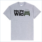 4x4 Life Into the Wild Defender T-Shirt for Land Rover,Off-Road Enthusiast!