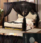 Bed Canopy Mosquito Netting Post Bedding Insect Net Twin Full Queen King image