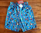 Super Mario Boys Sleep Shorts Pajamas Shorts Nintendo Mario Luigi Shorts S M L