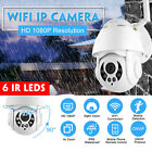 4X Zoom Wifi IP Camera 1080P PTZ 6 LEDS IR Night Vision Waterproof Outdoor CCTV