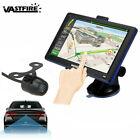 7 Inch GPS Car Bluetooth AV-in Navigation Truck Rear View Rearview Backup Camera