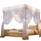 Four Corners Post Bed Canopy Mosquito Netting Or Frame/Post Twin Full Queen image