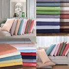 Zipper Closer Duvet Cover/Fitted/Flat/Pillowcase 1000 TC Egyptian Cotton Stripe image