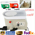 350W Electric Pottery Wheel Machine Set For Ceramic Work Clay Craft 110V 25CM US image