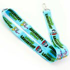 Dexters Laboratory Dee Dee and Dexter 90s Cartoon Keychain Lanyard LYN-080