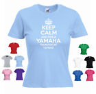 'Keep Calm and Ride a Yamaha YZF600 Thundercat' Funny Ladies T-shirt
