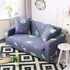 1/2/3 eater Stretch Sofa Covers Lounge Couch Chair Cover Slipcover + 2 Pillowcas